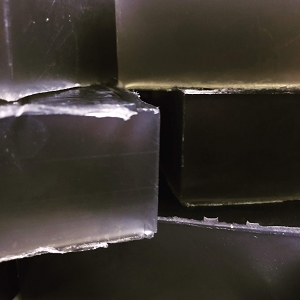 Black Jack Olive Oil and Activated Charcoal Soap